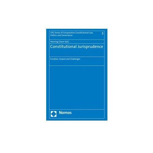 Constitutional Jurisprudence (9783848704316)