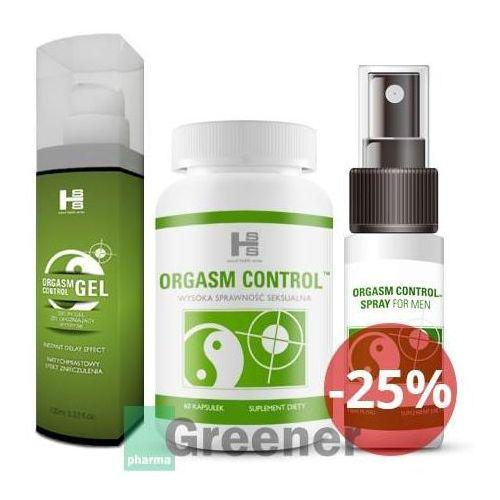 Orgasm Control tabletki + spray + gel - Sexual Health Series (SHS)