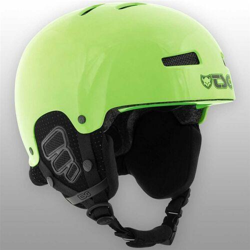 Kask - gravity youth solid color gloss neon green (228) rozmiar: xxs/xs marki Tsg