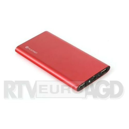 Platinet pmpb8pr 8000 mah (czerwony)