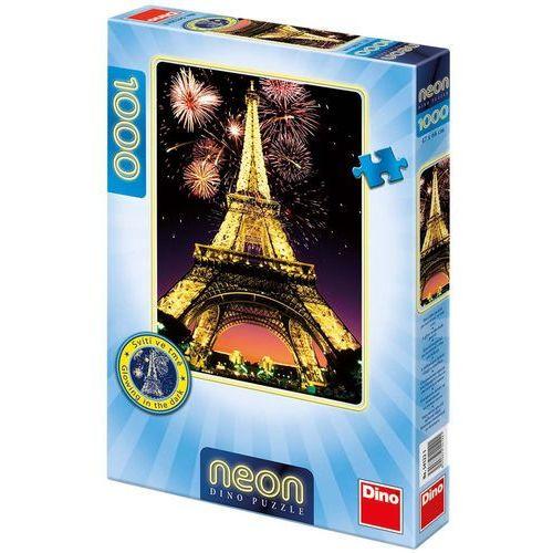 Dino toys Puzzle 1000 neon wieża eiffela dino (8590878541221)