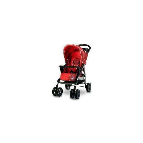 Wózek spacerowy CARETERO Monaco czerwony + DARMOWY TRANSPORT!