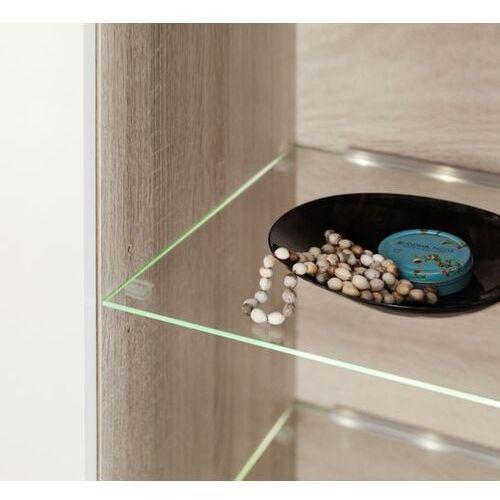 High glossy furniture Oświetlenie 4 led zielone