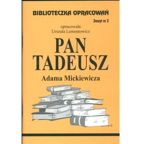 Pan Tadeusz Zeszyt 2, BIBLIOTEKA WYSYLKOWA