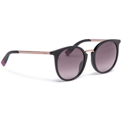 Furla Okulary przeciwsłoneczne - club 919627 d 147f rem onyx