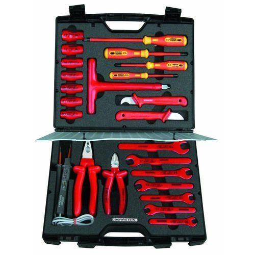 Walizka narzędziowa Bernstein 8150 VDE, 24 narzędzia, (DxSxW) 350 x 310 x 110 mm