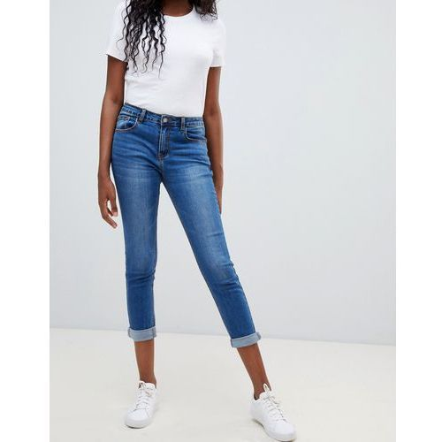 cropped skinny jeans - blue marki Glamorous