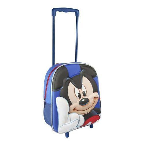 Plecak na kółkach 3d myszka mickey 31 cm marki Cerda