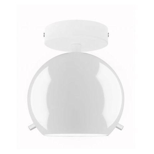 Plafon LAMPA sufitowa MYOO ELEMENTARY CP 1/C/OPAL GLOSSY/OPAL Sotto Luce natynkowa OPRAWA szklana kula ball biała
