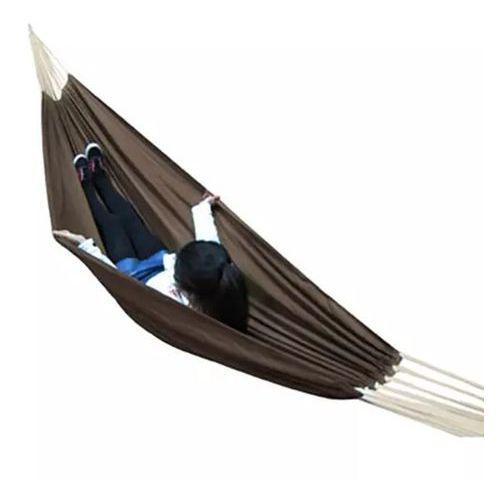 Hamak w kolorze brąz 260 x 150 cm