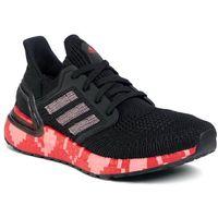 Buty - ultraboost 20 eg0761 cblack/glopnk/scarle, Adidas, 36-40