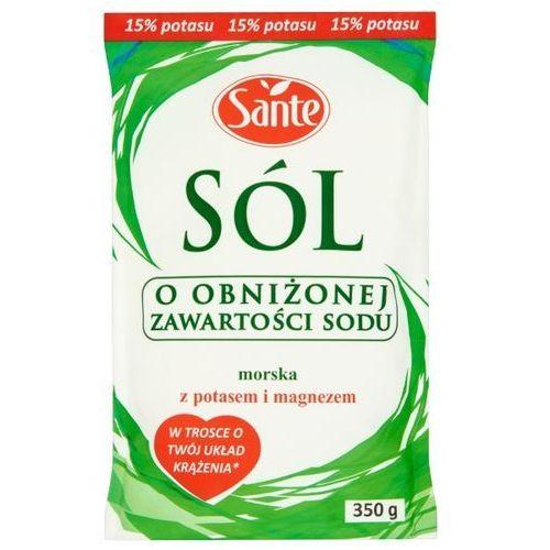 Sante Sól morska o obniżonej zawartości sodu 350 g - sprawdź w wybranym sklepie