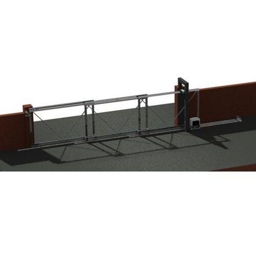 Teleskopowy system bramy. Max 15m, 3-dzielna