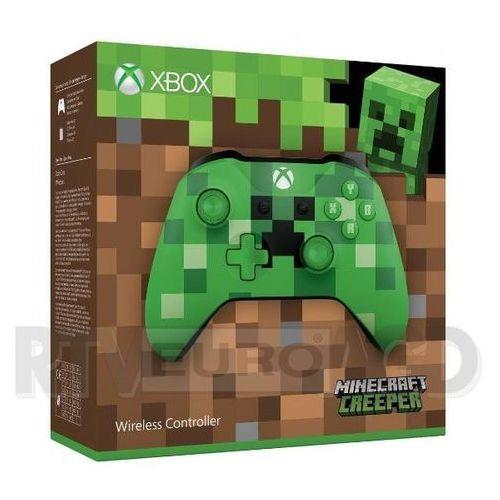 Microsoft Xbox One S Kontroler bezprzewodowy Minecraft Creeper - produkt w magazynie - szybka wysyłka!