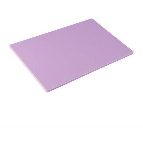 Deska do krojenia fioletowa | 450x300x(h)12mm marki Hygiplas