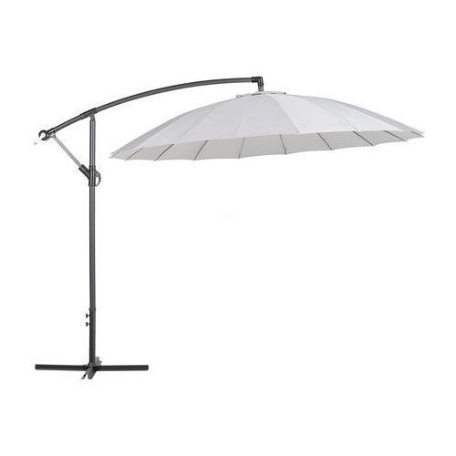 Parasol ogrodowy Ø268 cm jasnoszary calabria ii marki Beliani