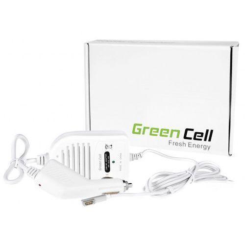 Green cell Samochodowa ładowarka zasilacz do apple macbook, macbook pro 15