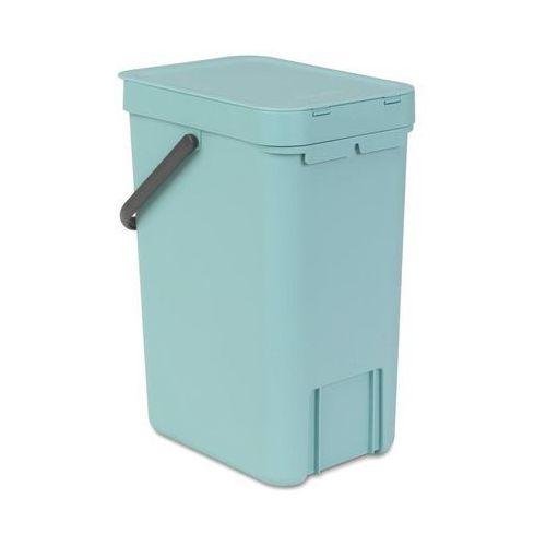 Kosz do segregacji odpadów sort & go 12 l miętowy marki Brabantia