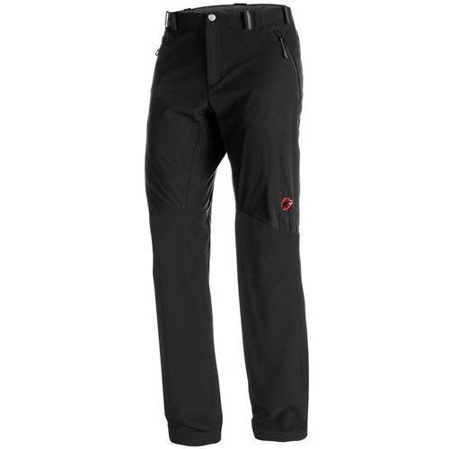 Mammut Courmayeur SO Spodnie długie Mężczyźni Long czarny DE 48 (długie) 2018 Spodnie Softshell, kolor czarny