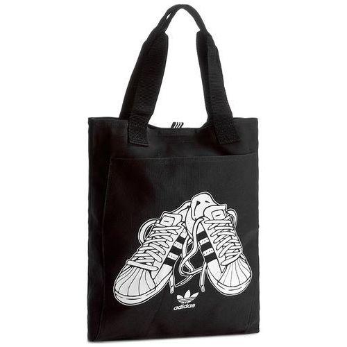 Torebka adidas - Shopper Sst BK2148 Black/White, kolor Czarny