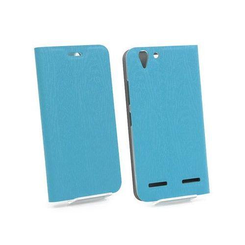 Lenovo k5 - pokrowiec na telefon - niebieski marki Etuo flex book
