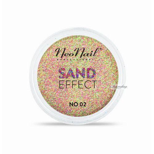 Neonail - sand effect - piaskowy pyłek do paznokci - 02