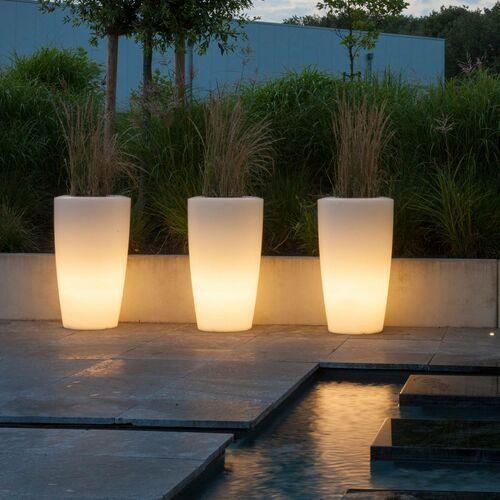 Lampa dekoracyjna Rovio III donica, biała (4055661001893)