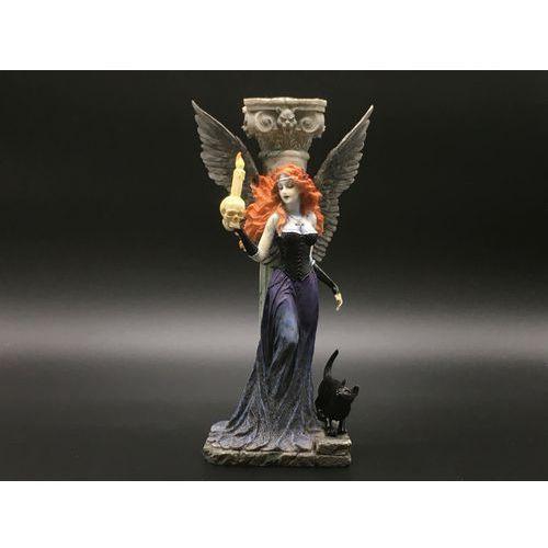 Veronese Gotycki anioł świecznik (wu75016aa)