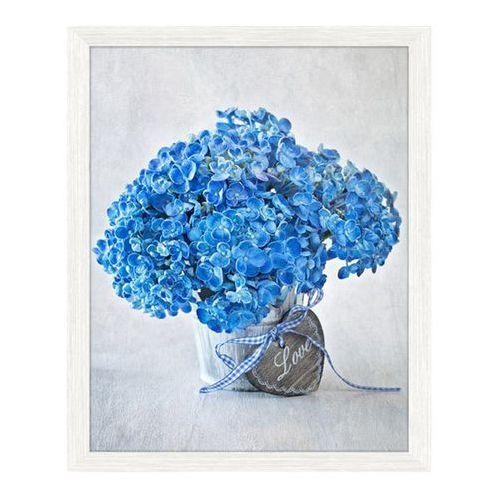 Obraz 24 x 30 cm Niebieskie kwiaty, 2430,006L34,17,087