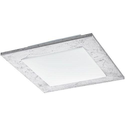 Plafon ciolini 94554 lampa sufitowa 1x9,7w led srebrny / biały marki Eglo