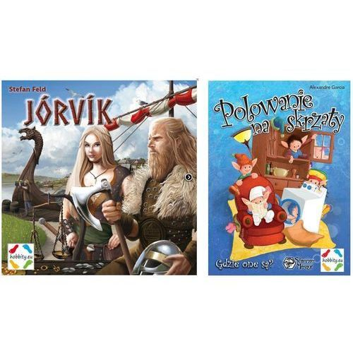 Hobbity Jorvik + polowanie na skrzaty za 1 zł (5902490405110)