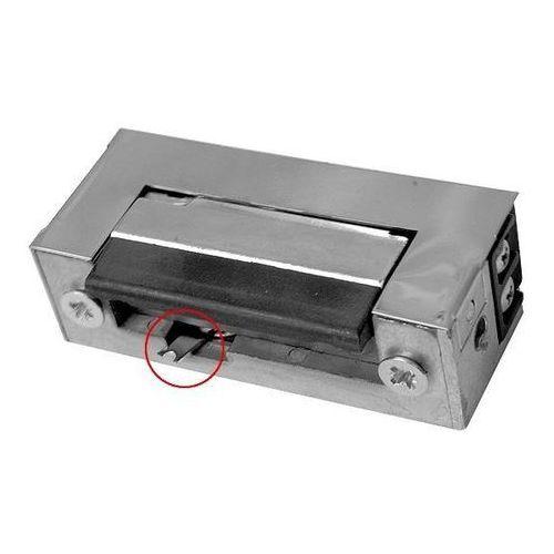 Eura-tech Rygiel elektromagnetyczny (elektrozaczep) re-31g2 symetryczny z wyłącznikiem 12v ac/dc
