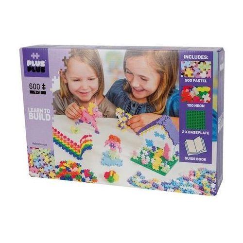 Klocki konstrukcyjne Plus-Plus Mini Mix - Pastel/Neon 600 elementów 5009