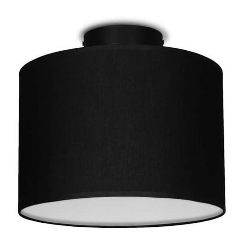 Sotto luce Plafon lampa sufitowa mika elementary s cp 1/c/black abażurowa oprawa okrągła czarna (5902429628191)