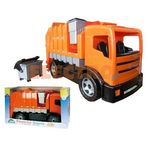 Śmieciarka lena pomarańczowa 2 osie w kartonie (4006942721702)
