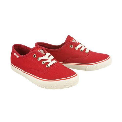 BIG STAR U274849 czerwony, półtrampki młodzieżowe - Czerwony, kolor czerwony