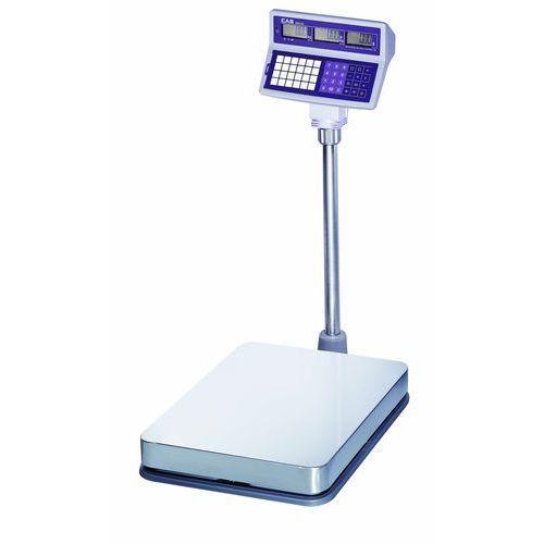 Waga kalkulacyjna dwudziałkowa platformowa, do 150 kg | CAS, EB L 150
