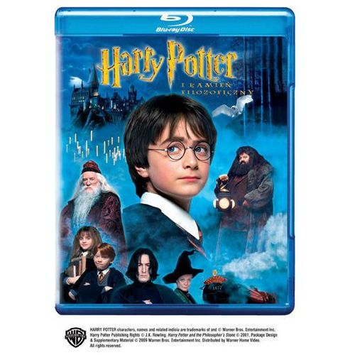 Harry Potter i Kamień Filozoficzny (blu-ray)