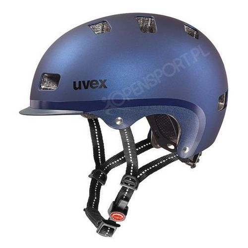 Uvex Miejski kask rowerowy  city 5 blue (58-61 cm)