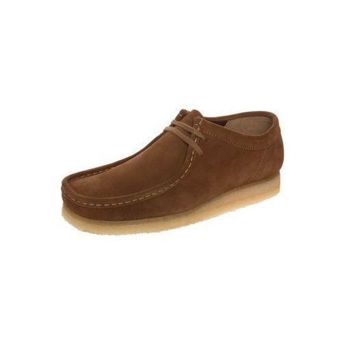Clarks Originals Men's Wallabee Shoes - Cola Suede - UK 7