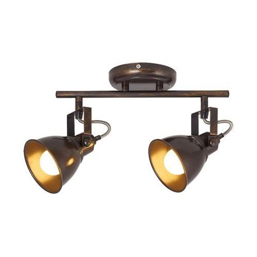 Listwa lampa sufitowa spot Rabalux Vivienne 2x40W E14 antyczny brąz 5963 (5998250359632)