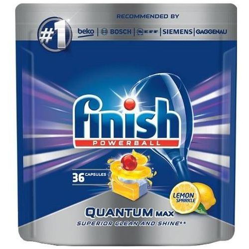 Tabletki FINISH Quantum Max Cytrynowe (36 sztuk)