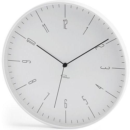Zegar ścienny Cara biały, 143002