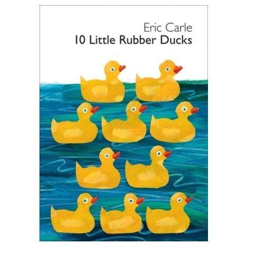 10 Little Rubber Ducks. 10 kleine Gummienten, englische Ausgabe (9780061964282) - OKAZJE