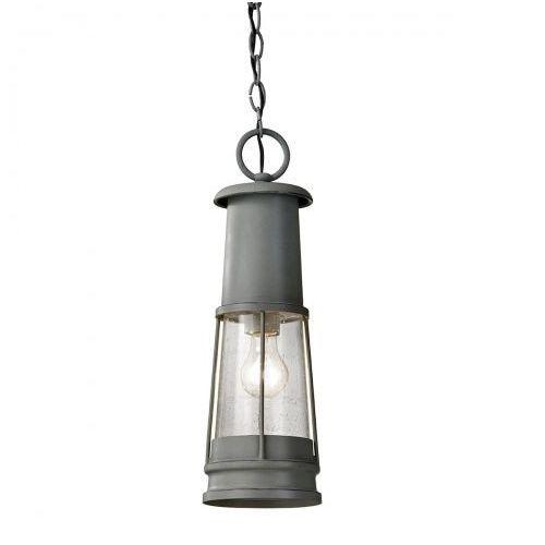 Zewnętrzna lampa sufitowa chelsea harbor fe/chelseahbr/f elstead oprawa ogrodowa plafon ip44 outdoor szary marki Feiss