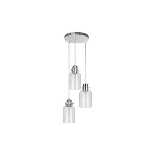 ALESSANDRO 1760338 LAMPA WISZĄCA SPOT LIGHT Nowoczesne oświetlenie, kolor chrom/transparentny