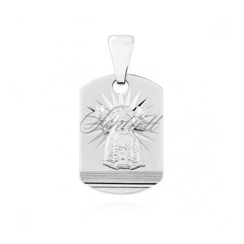 Silver (925) pendant - Our Lady of Perpetual Help - GMD028