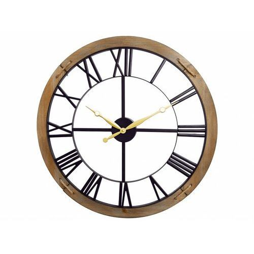 Zegar ścienny peter z metalu – śr. 60 cm marki Vente-unique