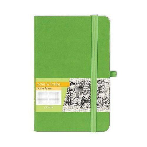Notes A6 w kratkę Romantyzm zielony (5904210019065)