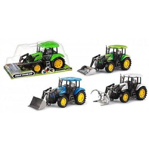 Traktor MEGA CREATIVE Moje ranczo B/O PL 42 cm 388186 (5902643650121)